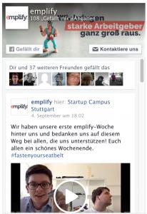 emplify Facebook-Plugin