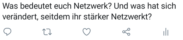 Twitter Umfrage