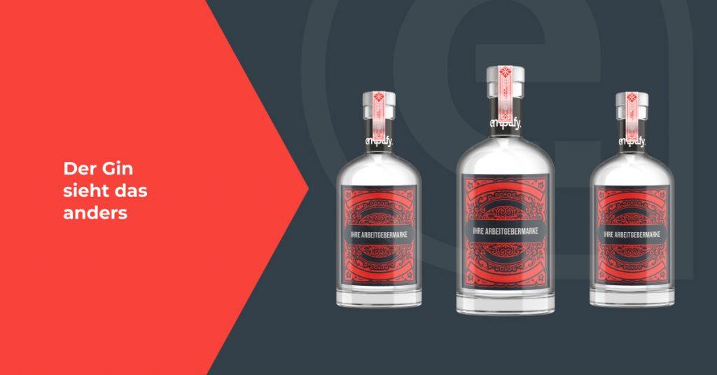 3 emplify Ginflaschen